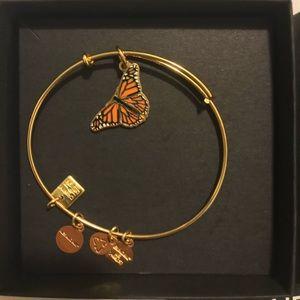 Alex & Ani Butterfly bracelet. BRAND NEW.